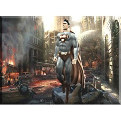 Superman cuadro lienzo