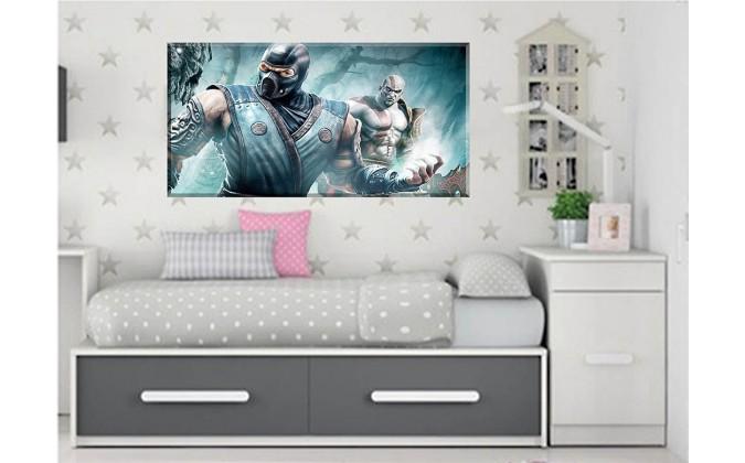 Kratos and Scorpion