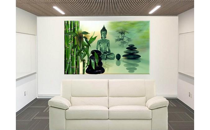 Piedras Zen Bambú Equilibrio Tranquilidad Armonía
