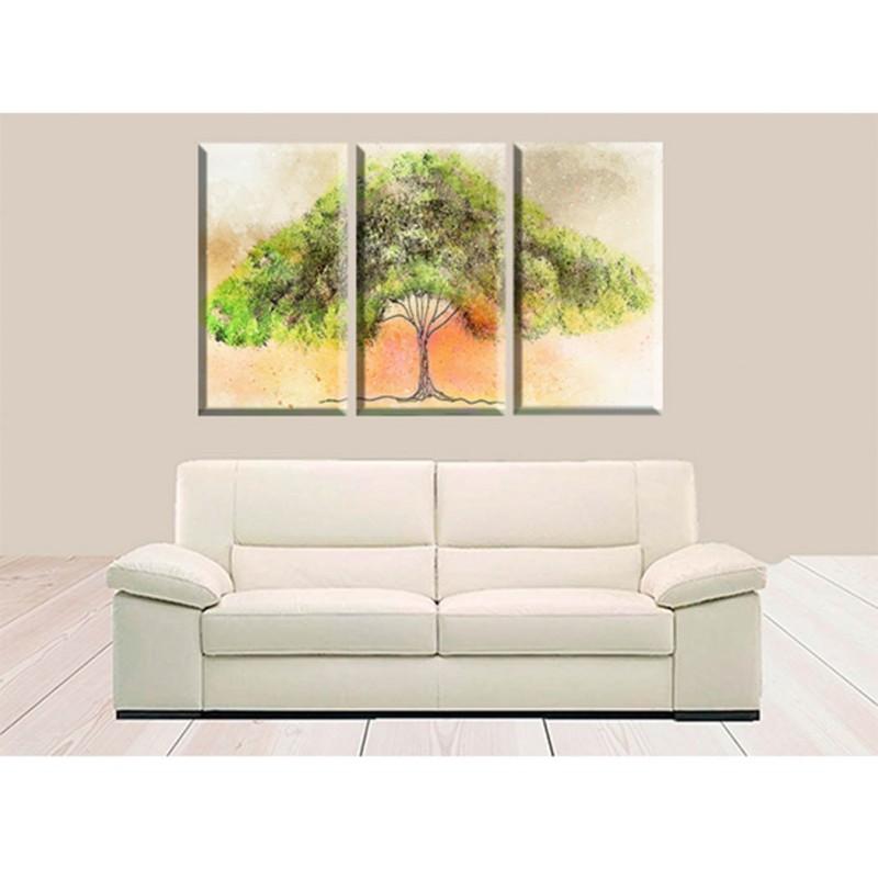 Cuadros guapos arbol de la vida lienzos pinturas actuales en lienzo - Cuadros guapos ...
