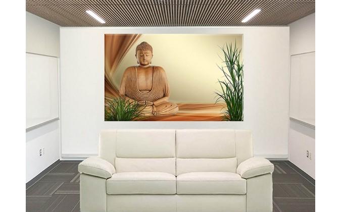 Buda Bienestar Relajación Resto Hierba Figura