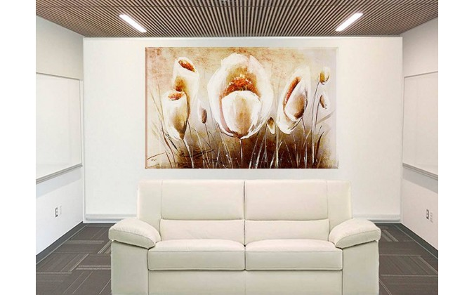 florer amapolas a pinceladas