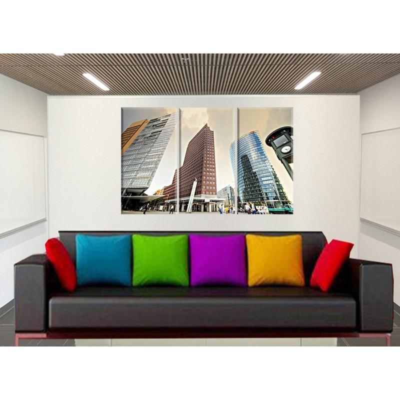 Coloca facil tus cuadros cuadrolienzo decoraci n portes gratis for Murales de pared baratos