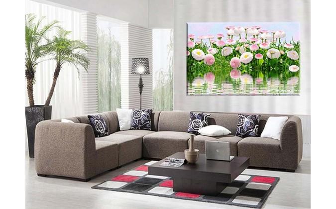 Flores Rosa Azul Naturaleza
