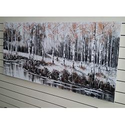 Pintado camino hacia el bosque -rf-403