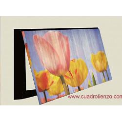 Tulipán Flor Flores Rosa cubrecontador