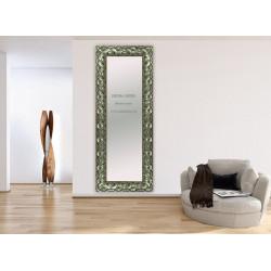 Espejo madera plata