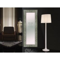 espejo recibidor plata champan