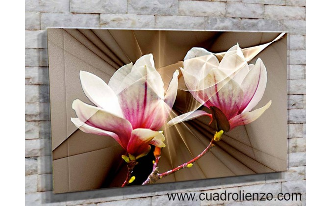 5510-Magnolias decorativas