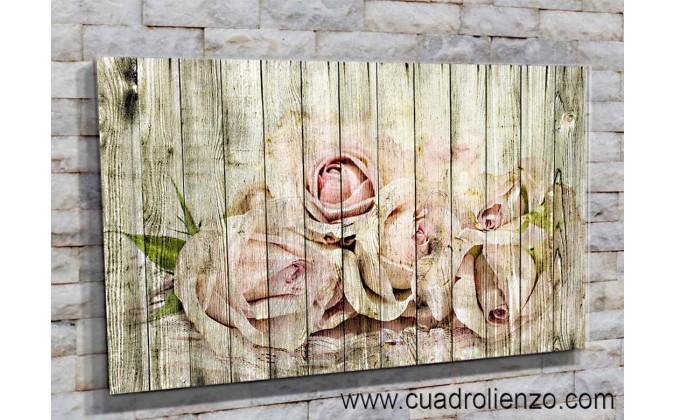 30009-Flor madera