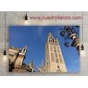 Vieja Arquitectura giralda de Sevilla