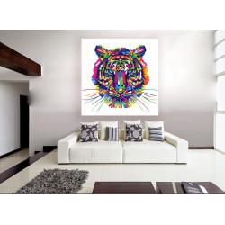 Tigre de colores