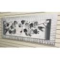 Estilo de mujer con flores 60x150 cm