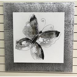Abstracto mariposa 70x70 cm