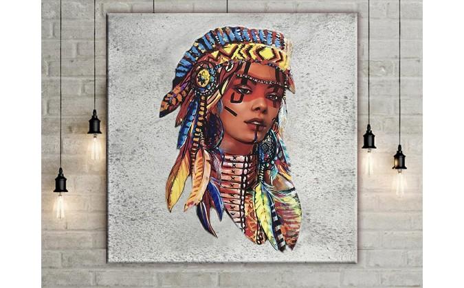 cuadros de Indios