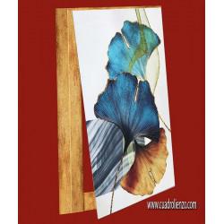 cubrecontador abtracto tonos de azul