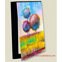 cubrecontador arboles de colores