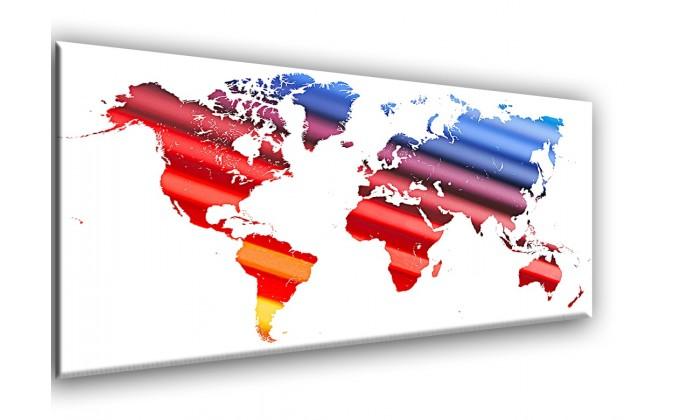 Mapa azul y rojo-24501