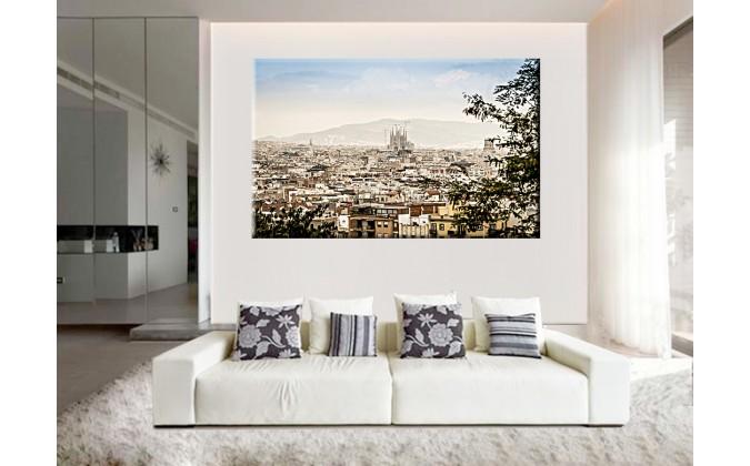 13021-Barcelona panorama