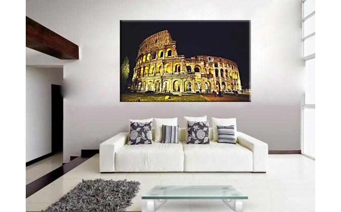 14502-Coliseo fondo negro