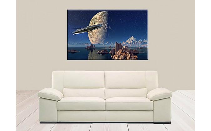 41014-Astronave planeta