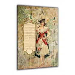 60004-Chica antigua partitura