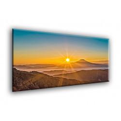 25002-Puesta de sol sobre el lago