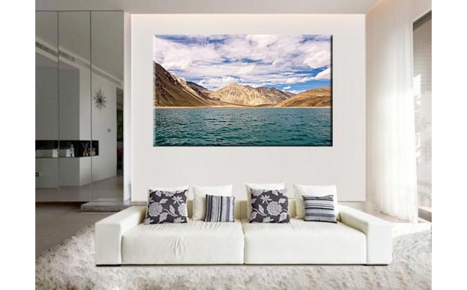 22511-Nubes lago montañas