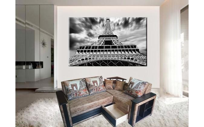 20510-Torre Eiffel blanco y negro