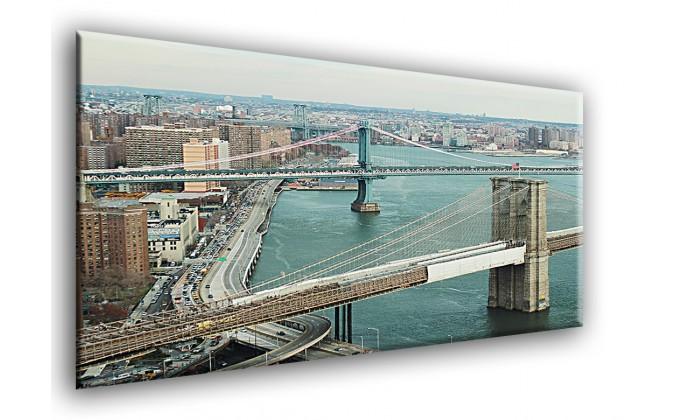 10024-Urbano puente panorámico nueva york