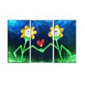 90011-Flor dibujos animados
