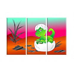 90014-Dinosaurio bebé lagarto