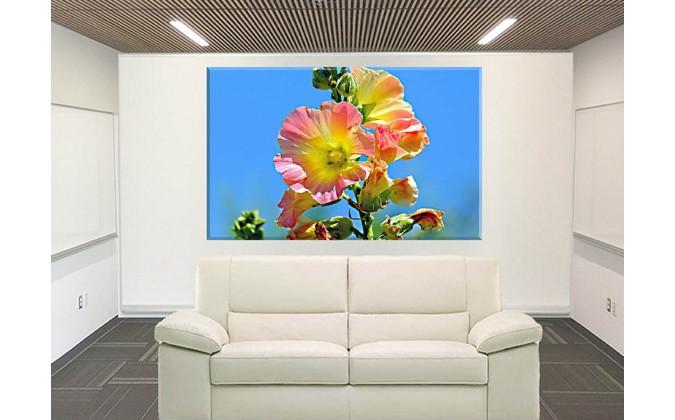 9026-Brillante Flor Rosa