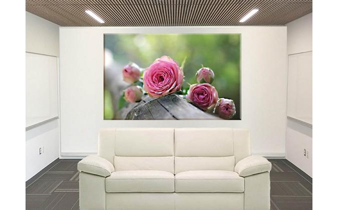 9027-Rosa Flor de la madera
