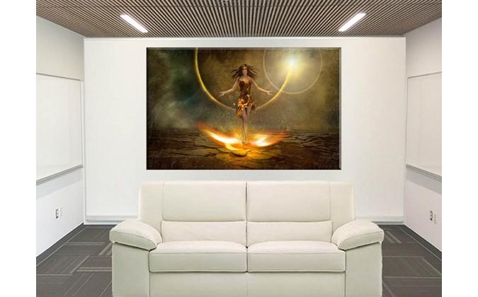 70516-Fantasía fuego figura