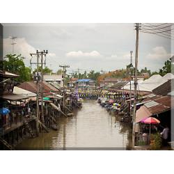 17006-Tailandia mercado flotante