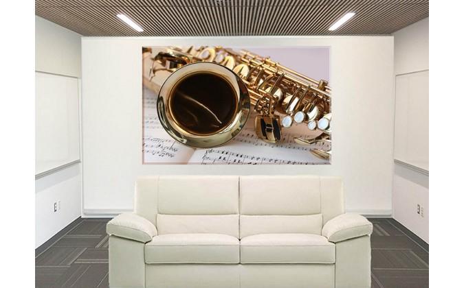 42054-Saxofón Música De Oro