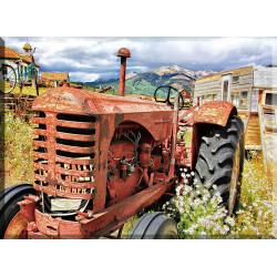 40019-tractor viejo