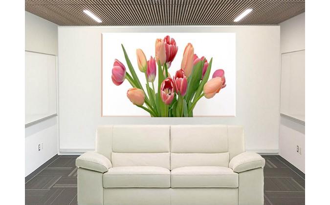 9533-Ramo de tulipanes decoracion