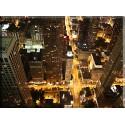 17501-Vida Nocturna Chicago Horizonte Noche