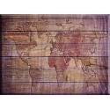 24518- mapa- mundi sobre madera