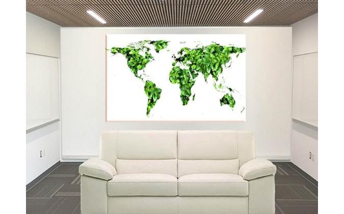 24519- mapa de hojas verdes