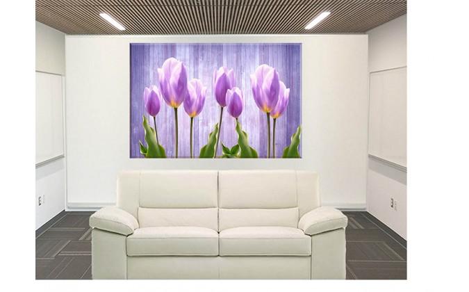 9545-tulipanes fusia