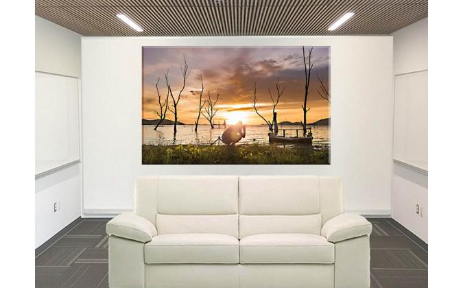 25015-Puesta De Sol Crepúsculo Cielo De Viaje Naturaleza