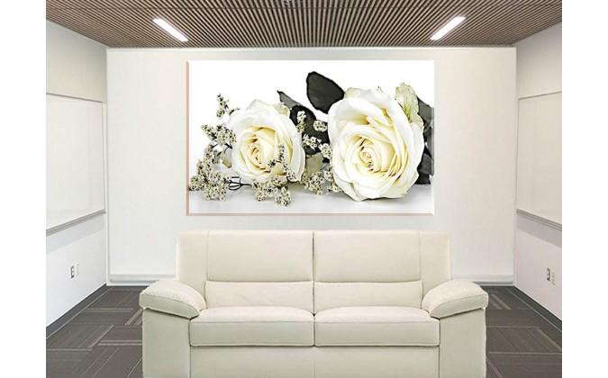 Rosas Boda Flor Rosa Flores Blancas_9029