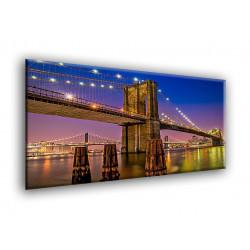 Nueva York: vista nocturna a Brooklyn-10006