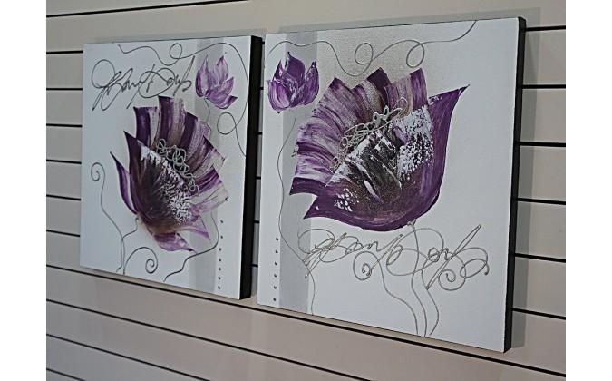 Pareja de dos- Flores 50x50-rf-17