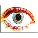 Ojo Alumno Visión Iris Humana Lente La Vista-72032