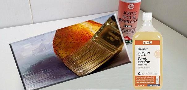 Técnica de realización de lienzos